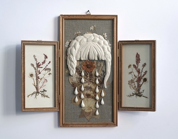 Mixed Media works by Karo Knitter