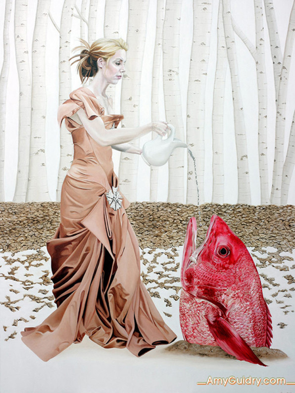 Adaptation. From the New Realm series, by Amy Guidry.