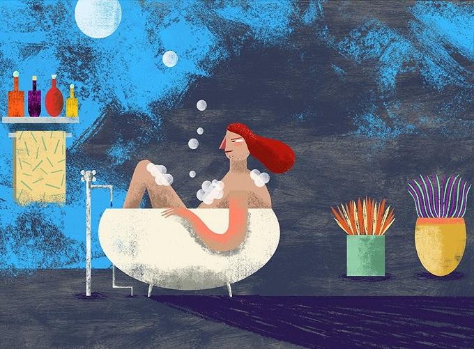 Adela's bath I - Maria Victoria Rodriguez