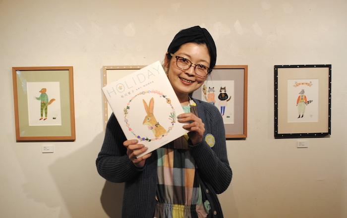 Aiko Fukawa-exposition-at-Keibunsha-book-store