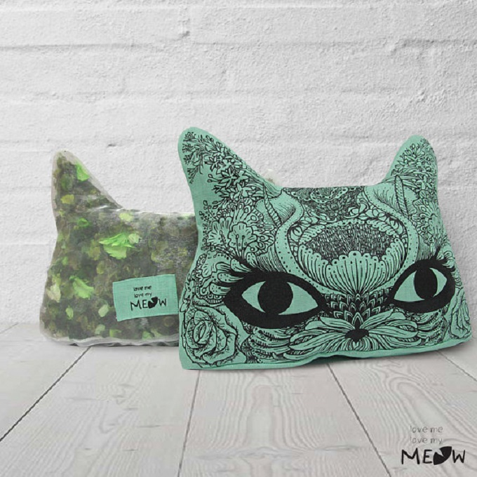 Air Freshener Pillow - Love me Love my Meow
