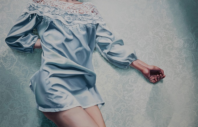 Painting by Aleksandra Kalisz
