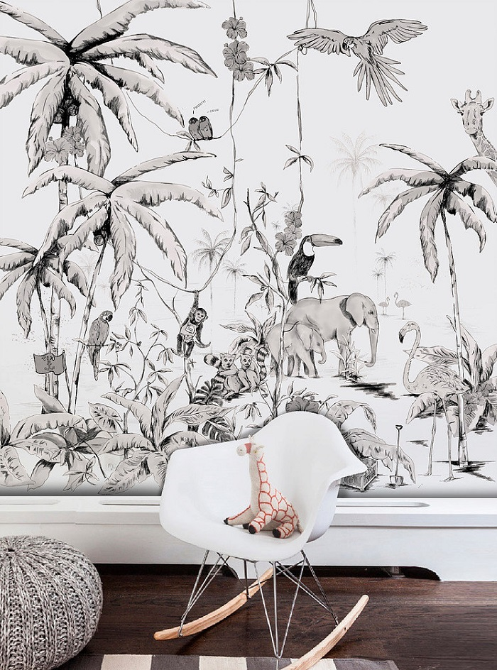 15 fabulous wallpaper designs. Black Bedroom Furniture Sets. Home Design Ideas