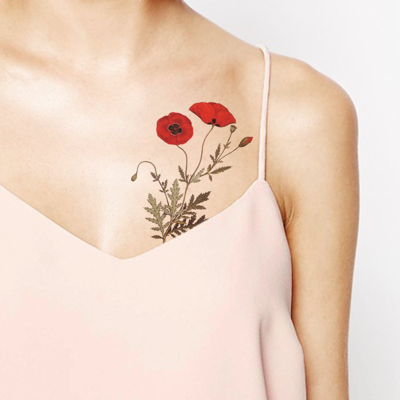 20 temporary tattoos to spoil your skin with. Black Bedroom Furniture Sets. Home Design Ideas