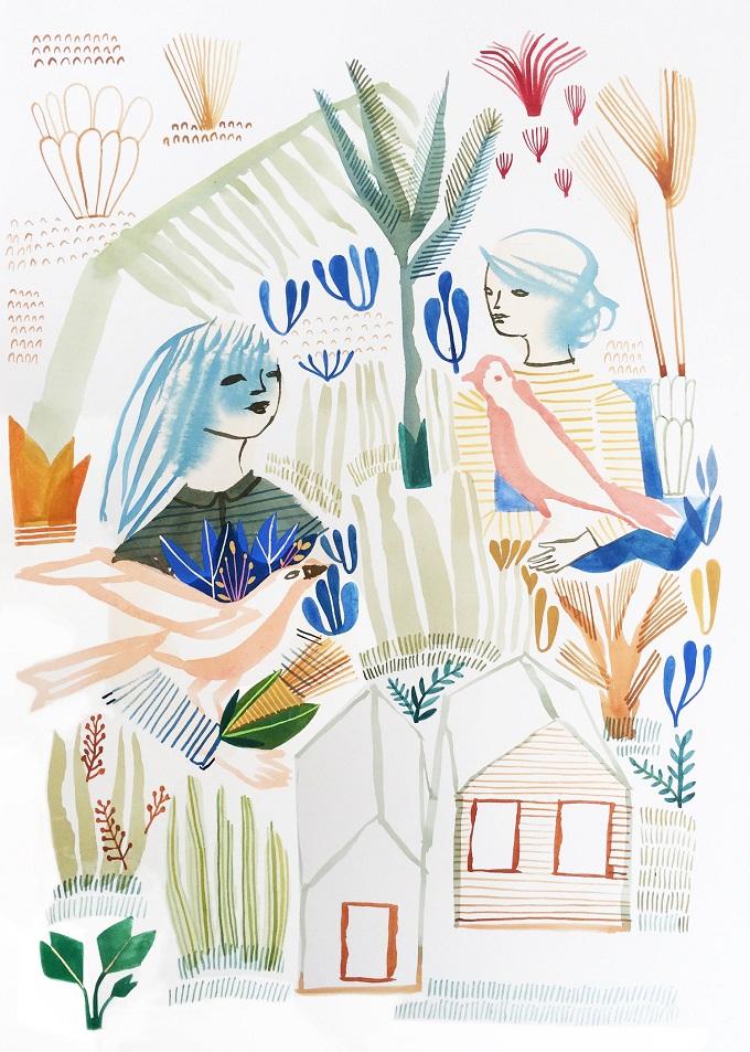 Illustration by Ashley Amery
