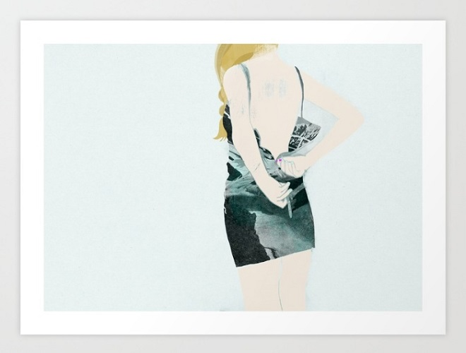 The Dress Print / Babeth Lafon