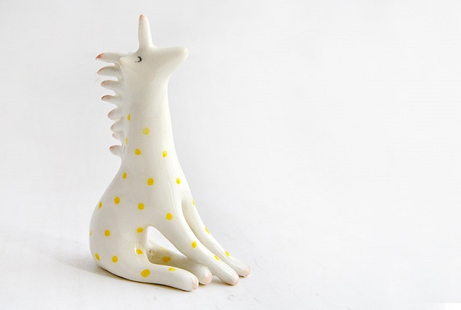 Ceramic Unicorn / Barruntando