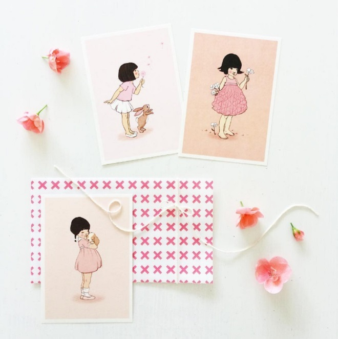 Postcards by Belle & Boo