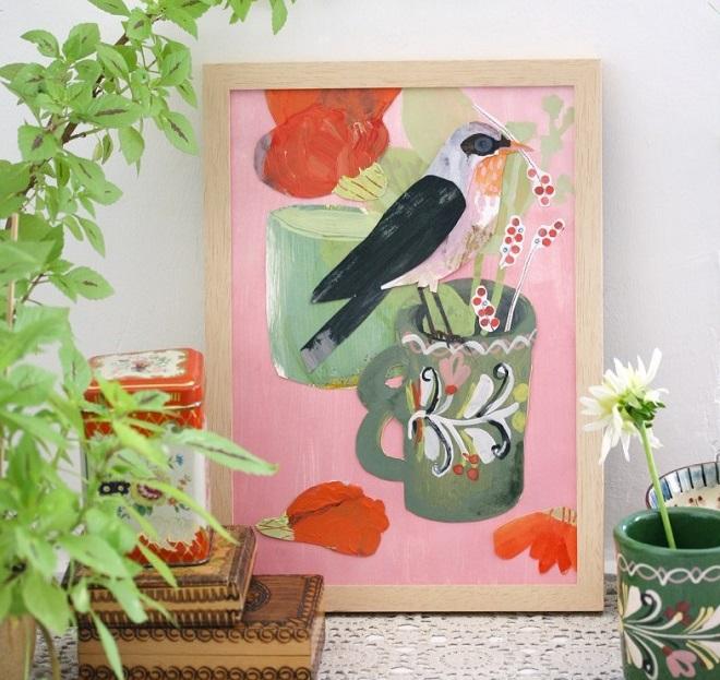 Berrybird Collage - Andrea Steffen