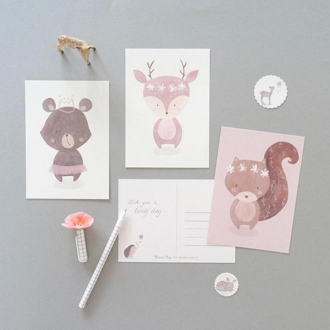 Postcards by Bianca Pozzi