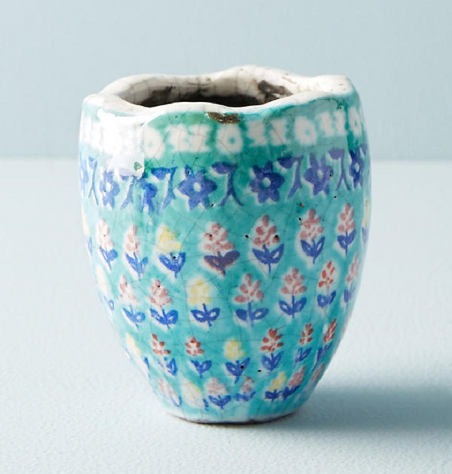Bismark Garden Mini Pot - Anthropologie
