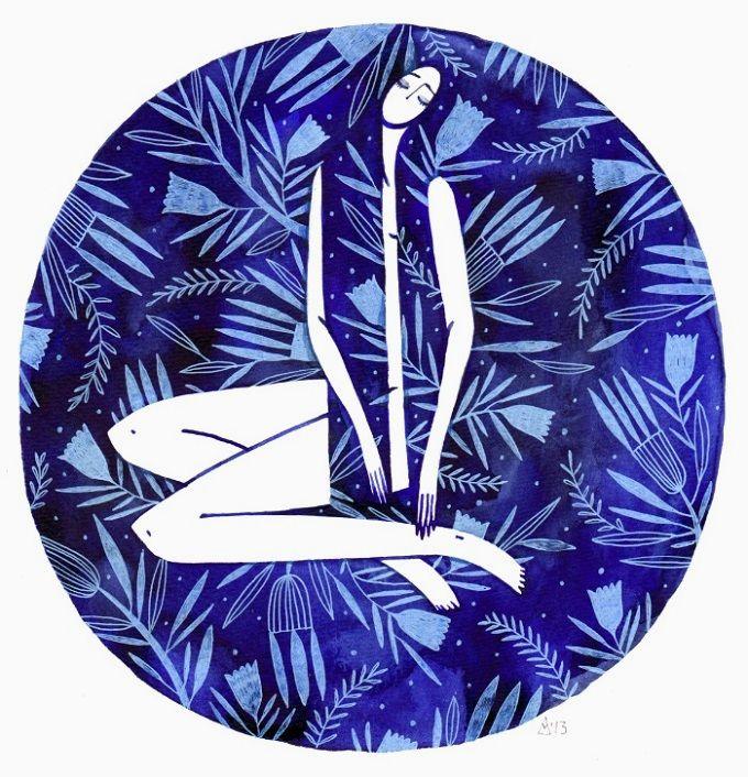 Blue Girl / Madalina Andronic