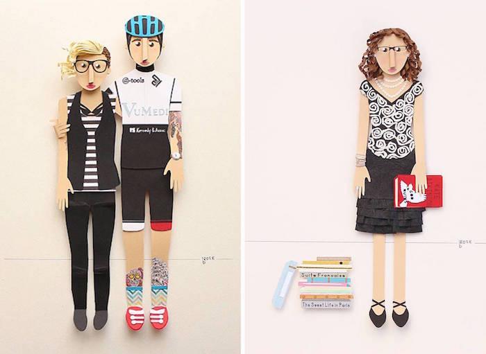 Paper Portraits / Brittani Rose