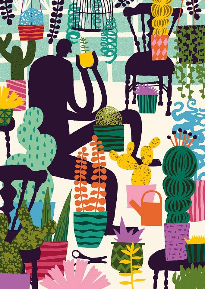 Cactus Poster - Marijke Buurlage
