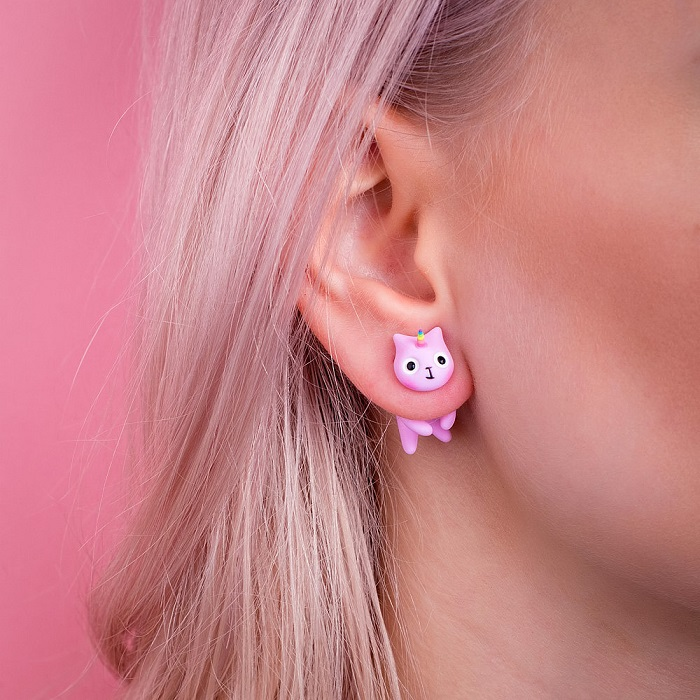 Cat studs by CatmadeCom