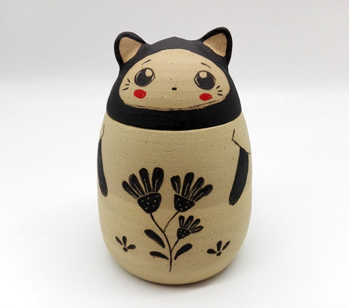 Ceramic Cat Box - Nini des Marronniers
