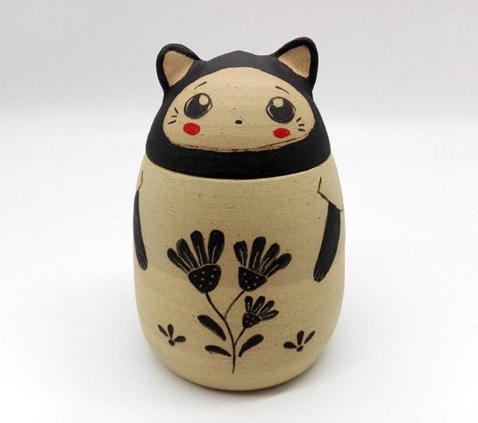 Ceramic Cat Box - Nini des Marronniers