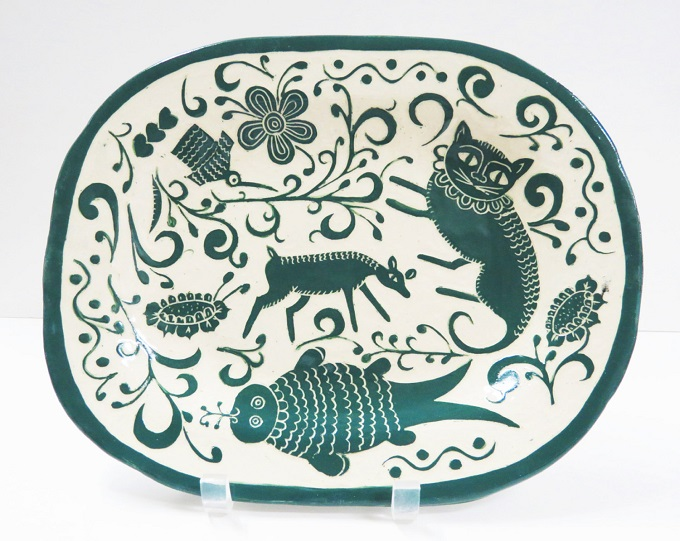 Ceramic Platter - The Clay Bungalow