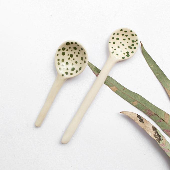 Ceramic Spoons - Ayesha Aggarwal