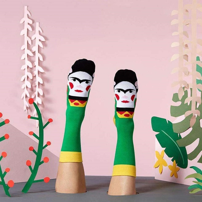 Illustrated Socks by Chatty Feet