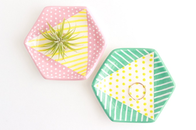 Colorful Ring Dish - Quiet Clementine