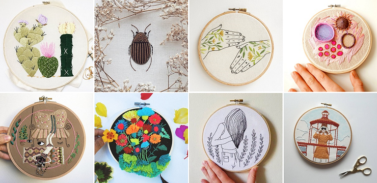 EMbroidery art on ArtisticMoods