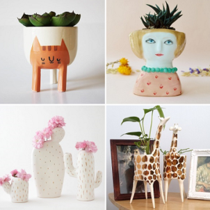 Planters on ArtisticMoods