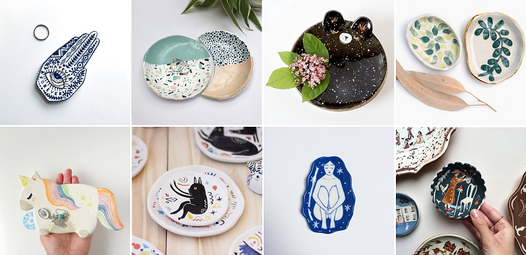 Ceramic Dishes on ArtisticMoods