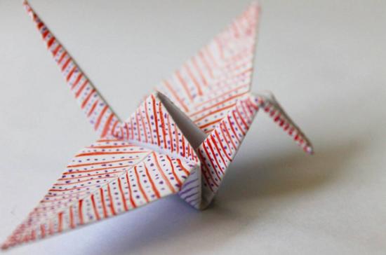 Origami Cranes / Cristian Marianciuc