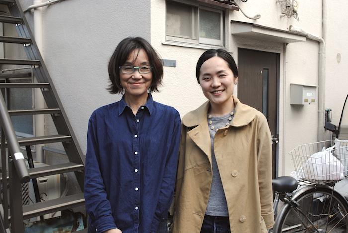 Yuki Kitazumi and Fumi Koike