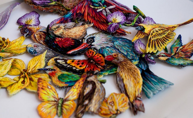 Embroidery by Danielle Clough