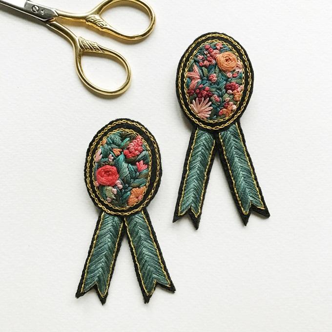 Embroidery by Defne Güntürkün