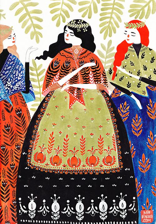 Belles illustrations  Dinara-Mirtalipova2