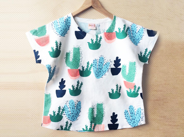 Cactus Top / Doops Designs