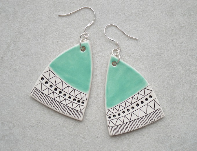 Earrings - Isla Clay