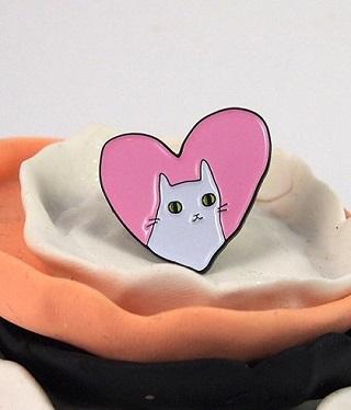 Cat Pin / I like Cats Shop