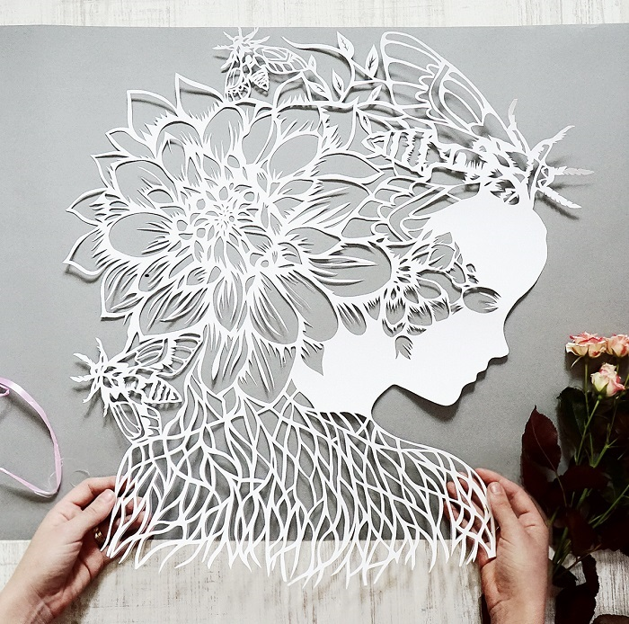 Papercut art / Eugenia Zoloto