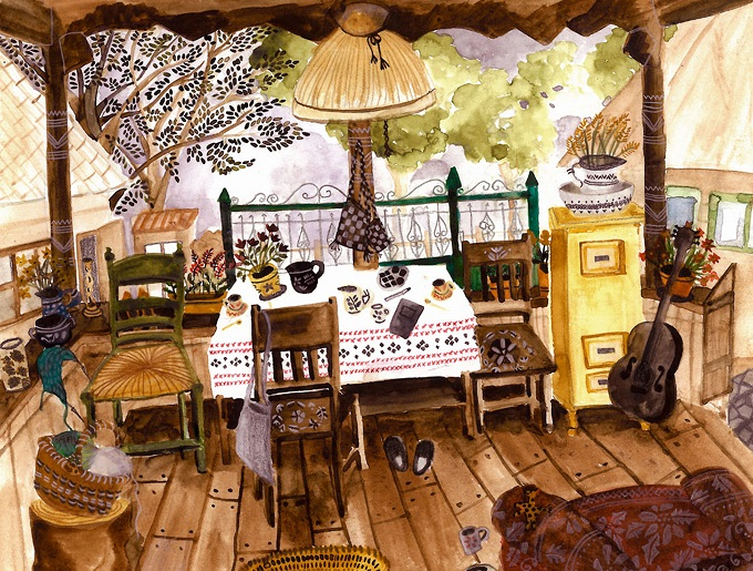 Illustration by Eveline Bervoets
