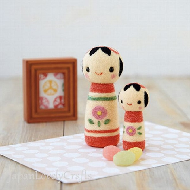 Felt Doll DIY Kit - Japan Lovely Crafts