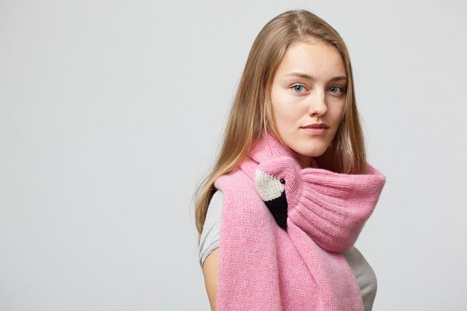 Flamingo Scarf - Nina Fuehrer