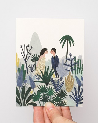 Forest Love Card / Kate Pugsley