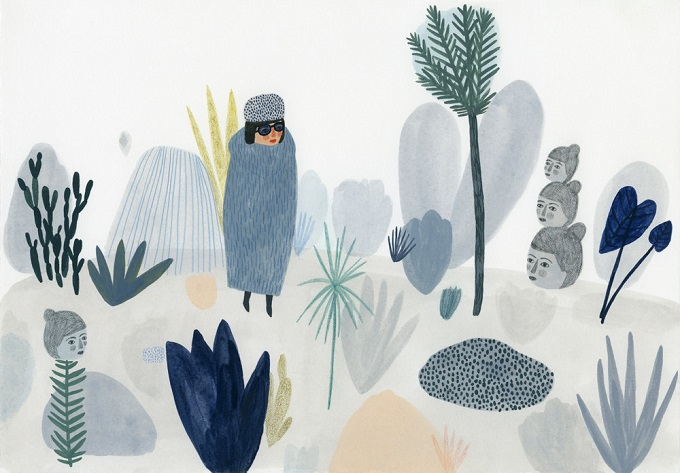 Forest Print / Kate Pugsley