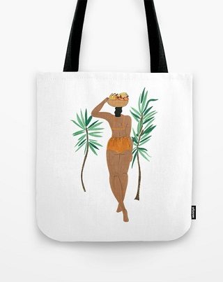 Fruit Basket Gal Tote Bag - Isabelle Feliu