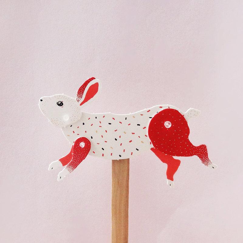Rabbit Puppet / Furze Chan