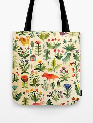 Garden Tote Bag - Aitch
