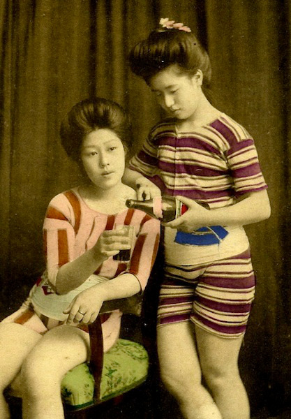 Geishas in Swimsuits