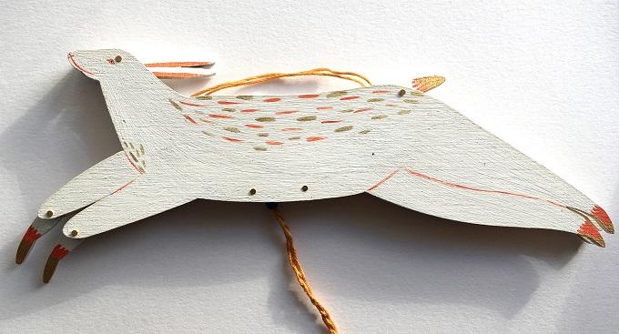 Wooden Puppet by by Georgie Ellen McAusland