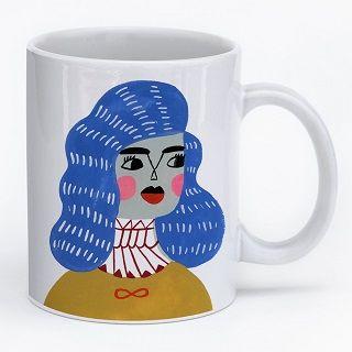 Future Blue Timbers Mug Mug / Sarah Walsh