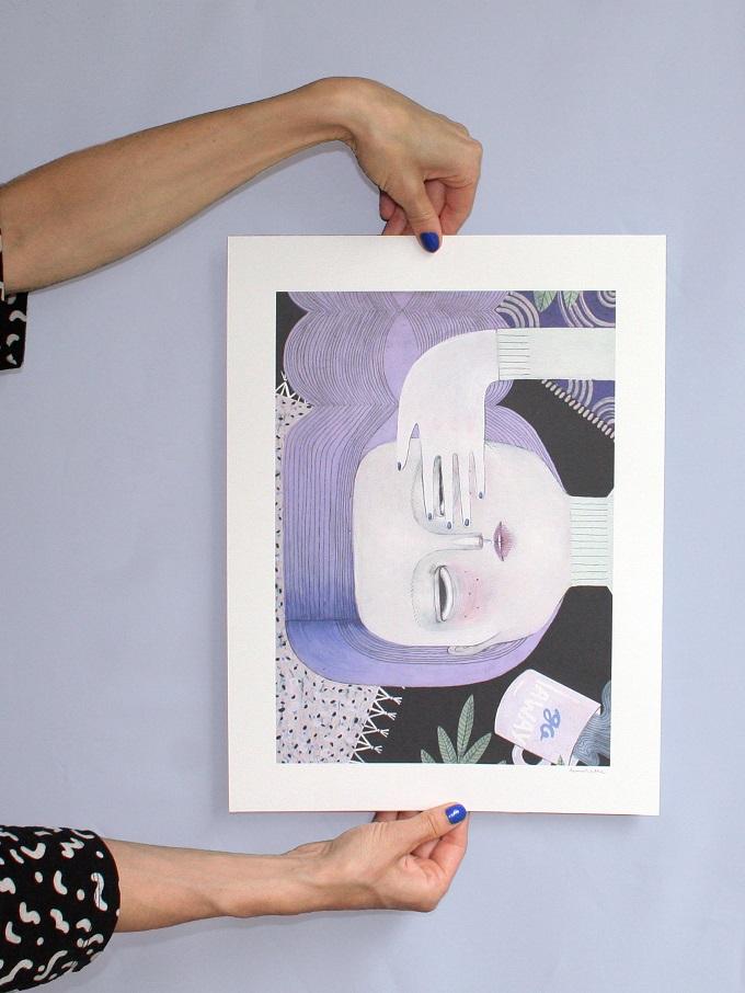 Go Away Print - La Nonette