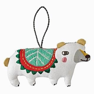 Good Cheer Bear Ornament / Sarah Walsh